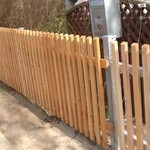 24.04.2013: Now we are stolze Besitzer of a brandnew #Zaun ;-) #fence #instagram #EG13