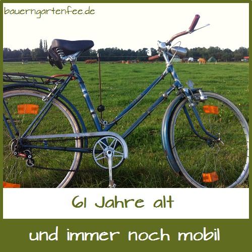 Berlin, 27. August 2012. Dieses Fahrrad ist Baujahr 1951 und gehörte meiner Mutter. Und es fährt noch!