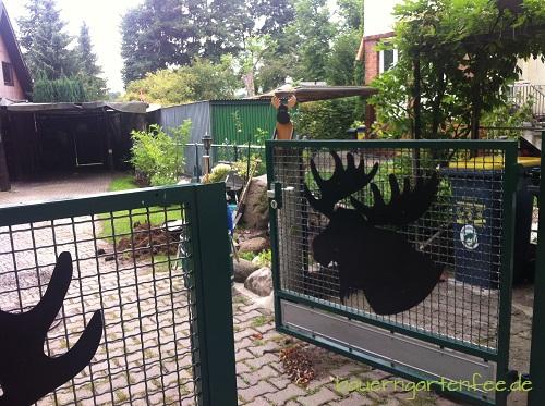 Grundstück am Elchdamm. Wo sonst? 30. August 2012