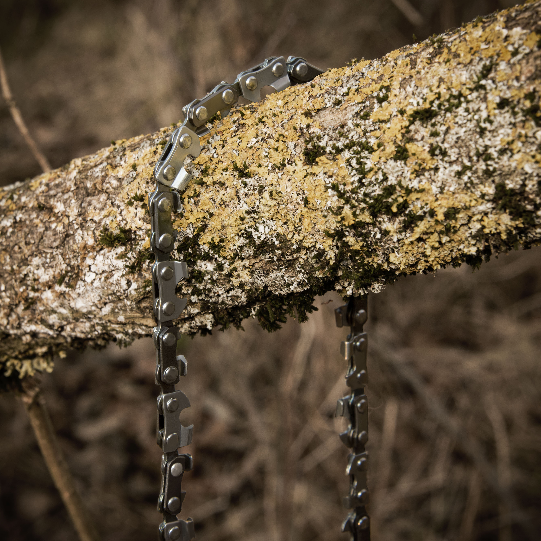 Handkettensäge. Foto: campbuddy.de