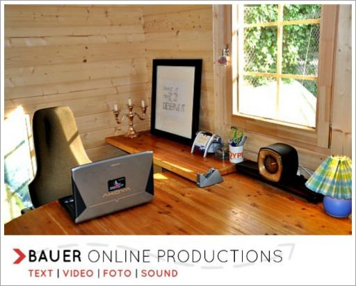 Bauer Online Productions - Das Headquarter. Weiterer Standort: Zürich.