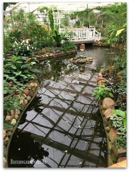 Schmetterlingshaus im Garten der Schmetterlinge. Foto: Petra A. Bauer 2017