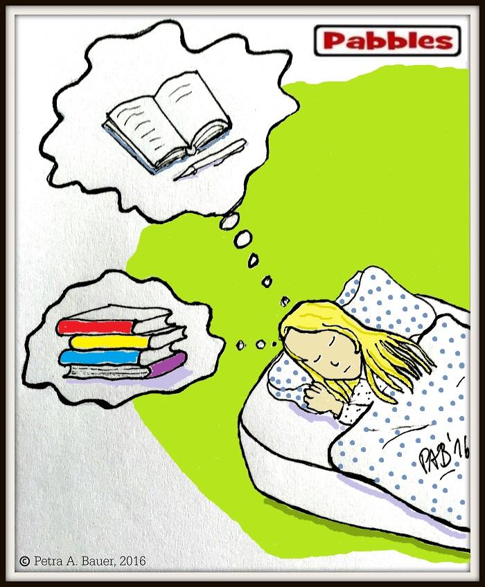 Bücherträume suchen mich heim.