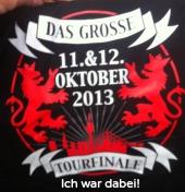 T-Shirt DTH-Tourfinale 2013 Düsseldorf