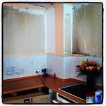 07.05.2013: Appe Küchenoberschränke. So sieht das echt gruselig aus. #EG13