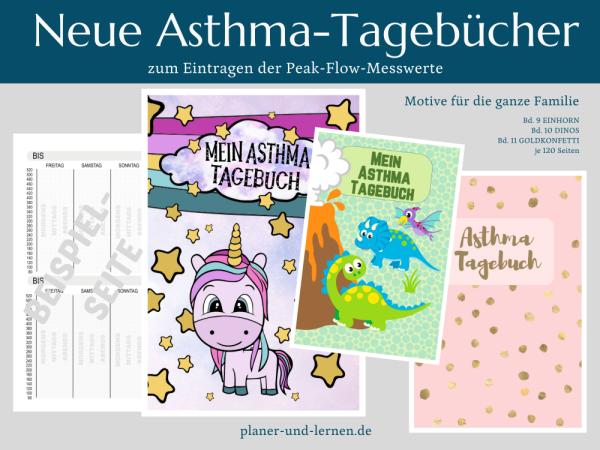 Neue Asthmatagebücher von Petra A. Bauer