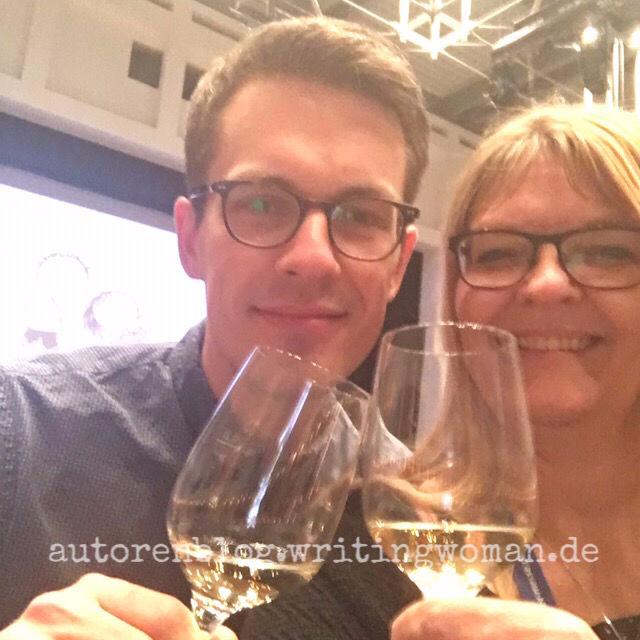 Leander Wattig und Petra A. Bauer auf der #lar2019.