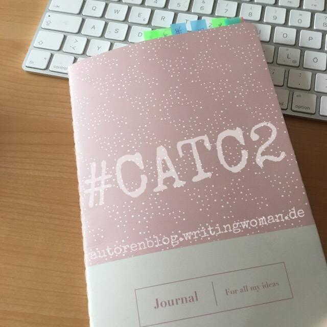Mein Notizbuch für #CATC2. Foto: Petra A. Bauer 2019