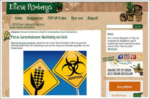 Petras Gartenkolumne: Nachhaltig verrückt
