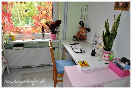 Mein neues Zimmer für Musik, Design, Basteln, Handarbeiiten u.v.m. Foto: Petra A. Bauer.