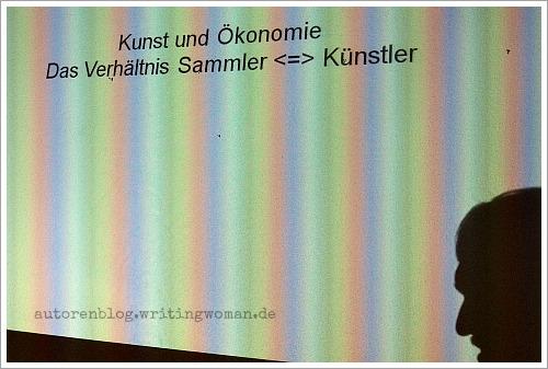 Kunst und Ökonomie. Das Verhältnis Sammler / Künstler.