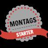 Montagsstarter-Logo, made by Petra A. Bauer 2014