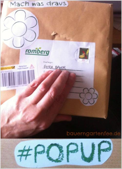 Überraschungspäckchen der Firma Romberg