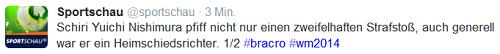 @sportschau-Tweet