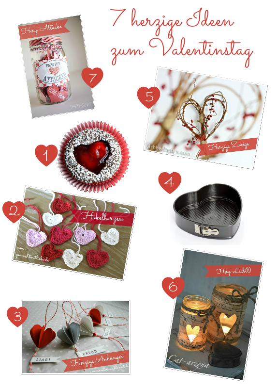 7 herzige Ideen zum Valentinstag